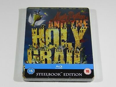 Monty Python and the Holy Grail Blu-ray Steelbook Edition [UK] RGN FREE ENG AUDI