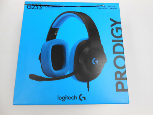 Logitech G233 Prodigy Wired Gaming Headset for PC, PS4, Xbox One Blue/black 981-000701