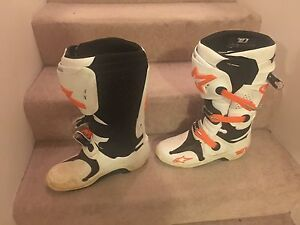 Motorbike boots size 10 US Cannington Canning Area Preview