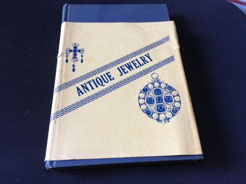 1953 Antique Jewelry hardbound book 200 pages primitive costume & fine gold silv