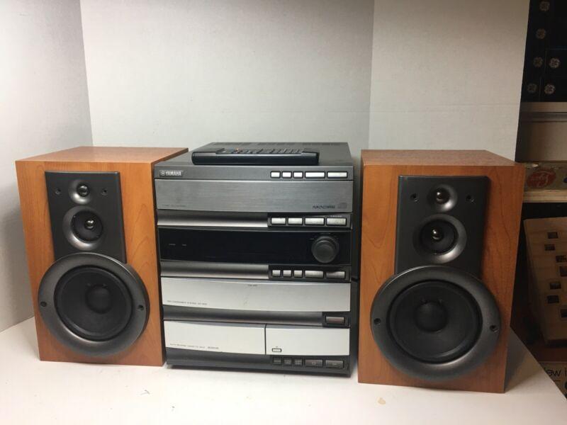 Yamaha GX-500 3 CD Changer/Cassette/Radio Mini Component Reciever System Speaker