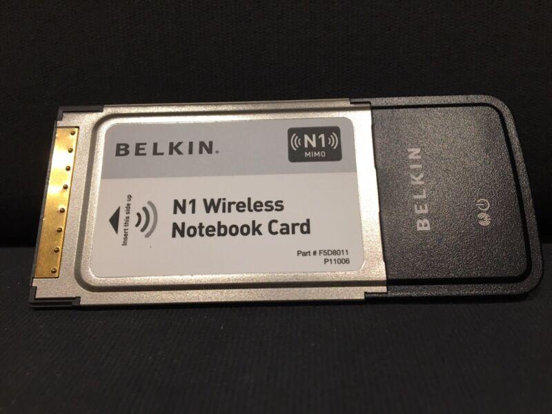 BELKIN+N1+MIMO+WIRELESS+NOTEBOOK+CARD