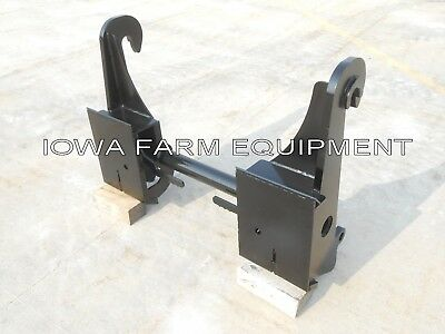 Telehandler Skidsteer Quick Attach Adapter Jcb Q-fit 504b506508509-42530