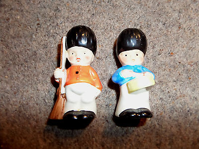 PAIR OF SOLDIER FOREIGN  SALT & PEPPERS