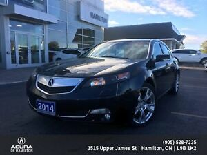 2014 Acura TL Elite Elite All Wheel Drive , Super low Kms!