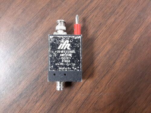 IFR A-7550  Spectrum Analyzer  20db External Generate amplifier (option 3)