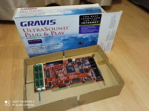 Gravis Ultrasound GUS Plug & Play v1.0 Box w/ acc