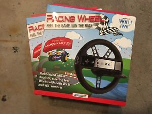 Wii or WiiU racing wheels