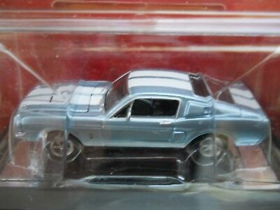 (JOHNNY LIGHTNING - GOLD SERIES MUSCLE CARS - 1968 SHELBY GT-500 MUSTANG  DIECAST)