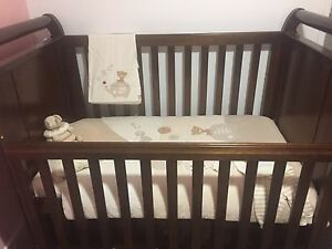 Boori country sleigh cot and change table package Mudgeeraba Gold Coast South Preview