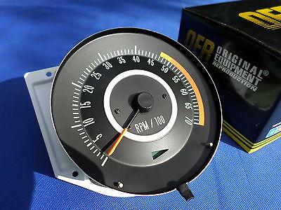 new 67 camaro 1967 327 tach dash tachometer 5000 rpm redline new new 67 camaro 1967 327 tach dash tachometer 5000 rpm redline new oer 6468909