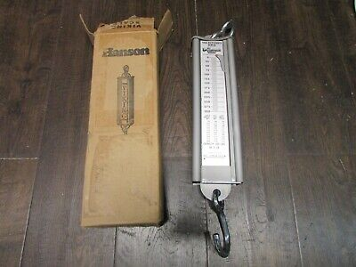 New Hanson Viking Scale Butcher 300 LB Pound Meat Carcass Hanging Scale 8935