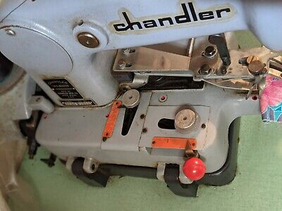 Chandler Tackmaster Industrial Sewing Machine Model 600-75 Button Tacking