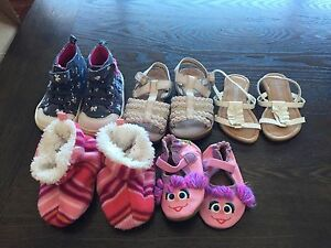 Baby girl shoes -SOME SOLD, remaining REDUCED