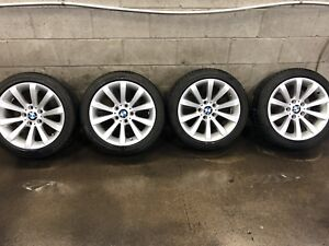 """17"""" BMW wheels and tires"""