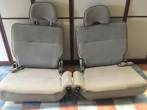 3rd row fold up/removable Nissan patrol 2003 seats East Beverley Beverley Area Preview
