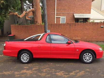 Holden Ute 2004 Red