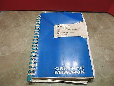 Cincinnati Milacron Sabre -500 Ert Computer Numerical 91202330 Parts Manual