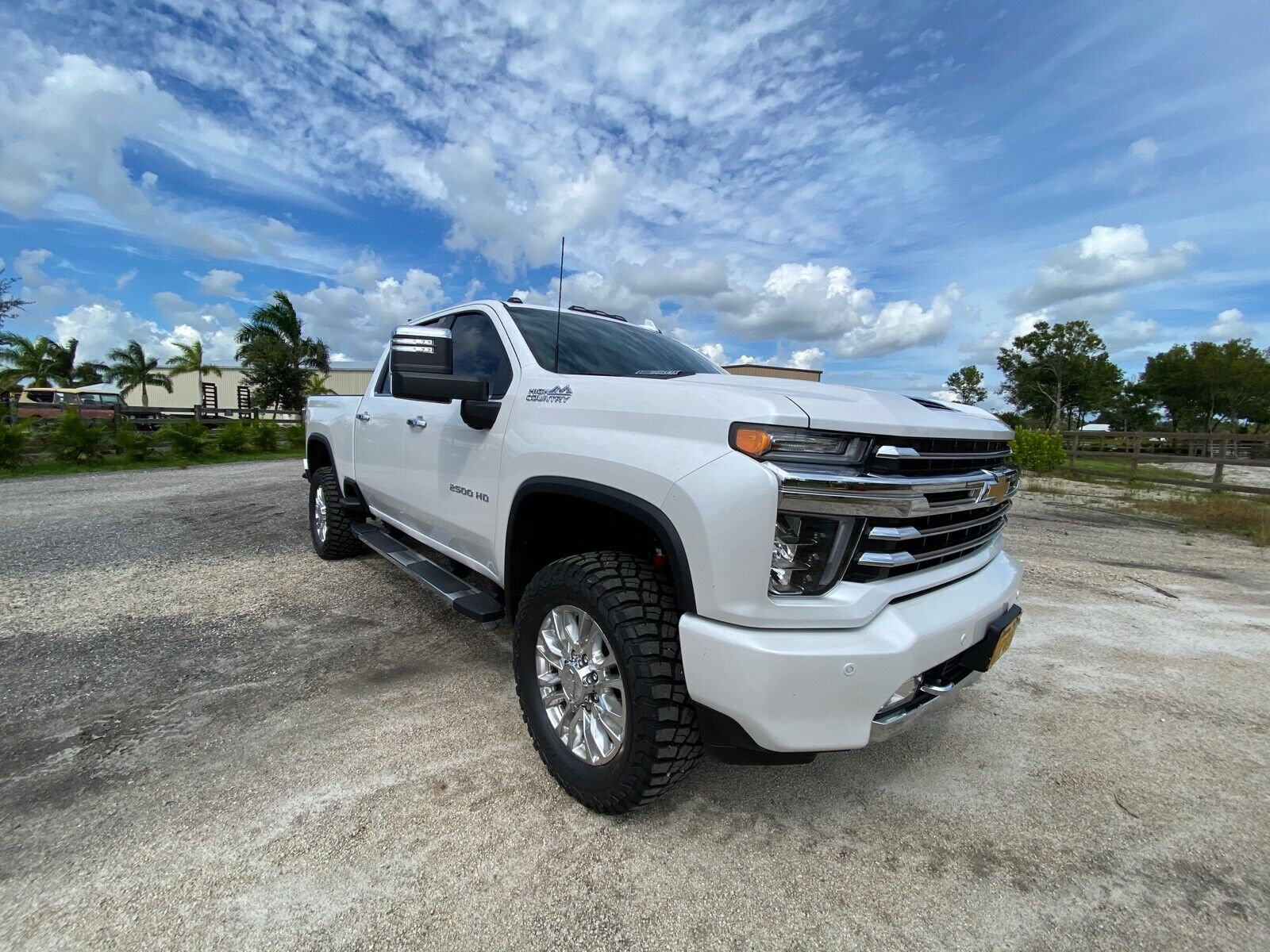 2020 Silverado High Country Lifted 2.5'' 35'' Tires Like ...