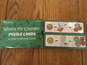 Discovery toys- money counting resources