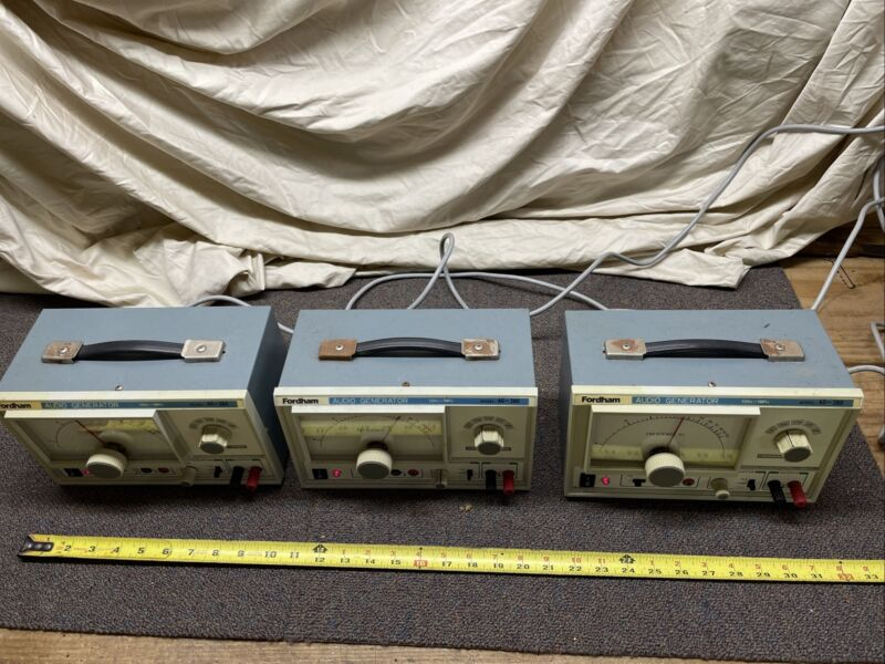 Fordham Audio Signal Generator AG-260 Vintage Electronics University Lab Surplus