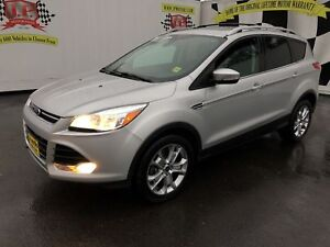 2014 Ford Escape Titanium, Automatic, Navigation, Leather, 4x4