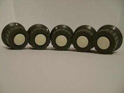 5pcs. Vintage Control Potentiometer Knob Tesla Collet Clamp For 6mm Shaft