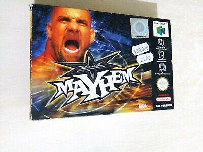 Nintendo 64 N64 Mayhem Pal nuovo new [no ntsc jap lot lotto ps1 sony sega]