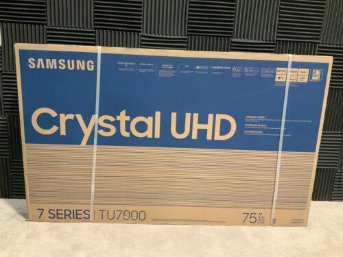 "SEALED Samsung TU7000 75"" LED LCD Smart TV (4K) UN75TU7000FXZA New ✅❤️✅❤️"