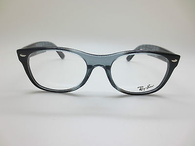 NEW Authentic Ray Ban RB 5184 5515 New Wayfarer Black/Grey 50mm RX Eyeglasses