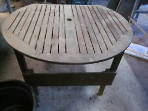 Wooden Outdoor Table Windsor Hawkesbury Area Preview