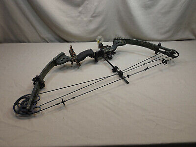"""BOWTECH TOMKAT COMPOUND BOW RIGHT HAND 60# & 28"""" DRAW"""