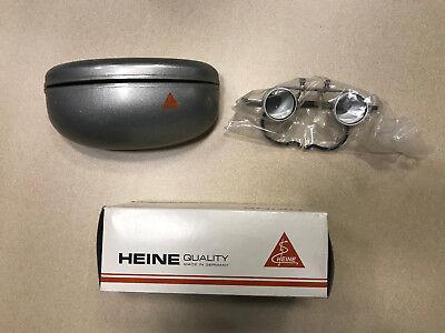 Heine C 2.3 Binocular Loupes In Case 450 Mm Working Distance C-00.322.02