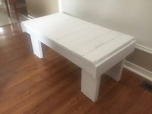 Rustic Shabby Wood Bench