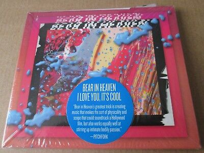 Bear in Heaven - I Love You It's Cool [CD]  NEW AND SEALED (Bear In Heaven)