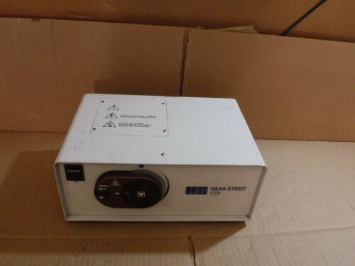 HS HAAG-STREIT POWER LIGHT SLIT LAMP MODEL LE300