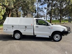 2014 Toyota Hilux Sr (4x4) 5 Sp Automatic C/chas 1 year rego