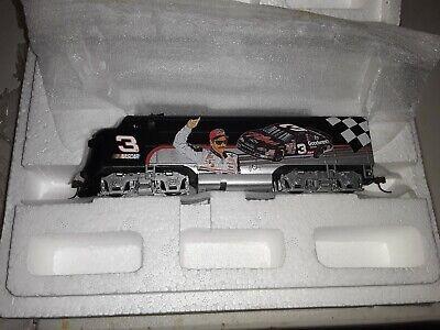 RARE 5Box Hawthorne Village Dale Earnhardt Sr. #3 HO Scale Train Set w/ COD