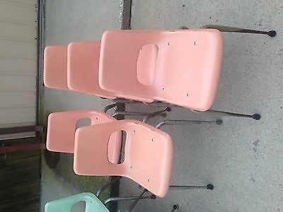Brunswick Adult Size Chairs Pink Fiber glass  for sale  Stryker