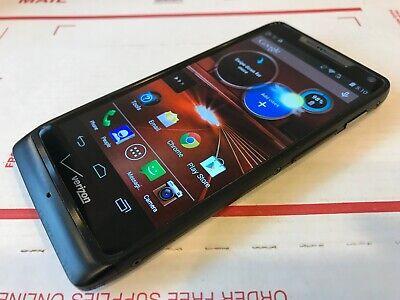 Motorola Droid RAZR M - XT907 - 8GB - Black (Verizon MVNO) Smartphone - Works