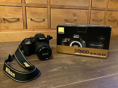 Nikon D5600 18-55mm DSRL Camera Kit (Excellent Quality)