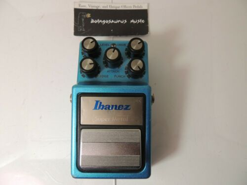 Vintage 1984 Ibanez SM-9 Super Metal High Gain Distortion Pedal Clean & Original