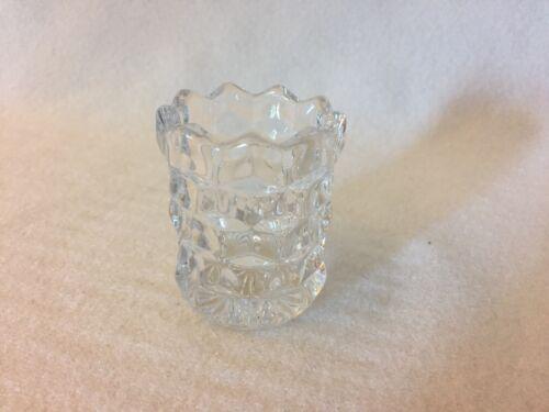 Fostoria American Crystal Toothpick Holder