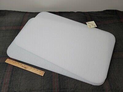 2 X White Polyethylene Foam Sheets 29-14 X 17-34 X 38