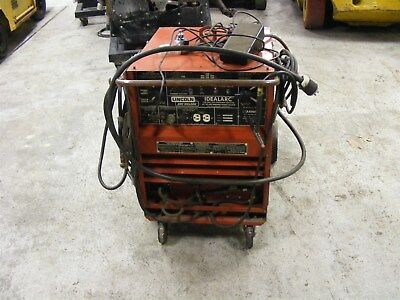 Lincoln Idealarc Welder Cat No.tig 250250 Complete Wleads Foot Control Acdc