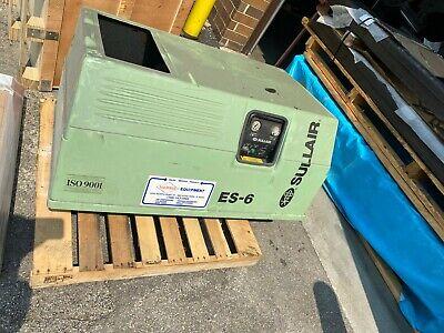 Sullair Es-6 Rotary Screw Air Compressor 10hp