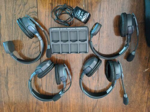 Eartec UltraLITE 4 user, Hands Free Intercom System - 2 Single 2 Double