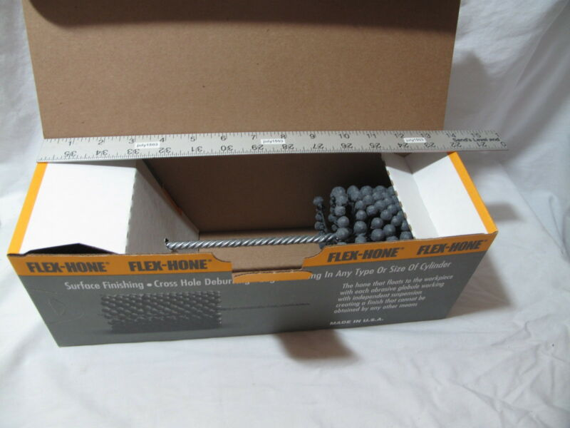 "(1) NEW  3-1/2"" 240 grit Flexible Cylinder Hone Bore Diameter Ball Engine Flex"