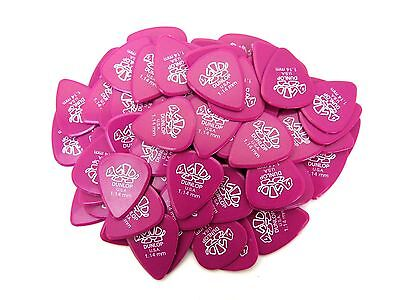 Dunlop Guitar Picks   Delrin 500  72 Pack  1.14mm Guitar Picks