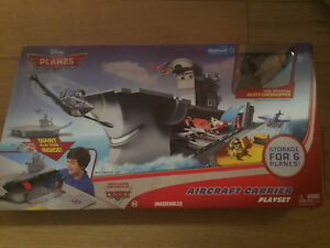 Planes Aircraft Carrier Playset